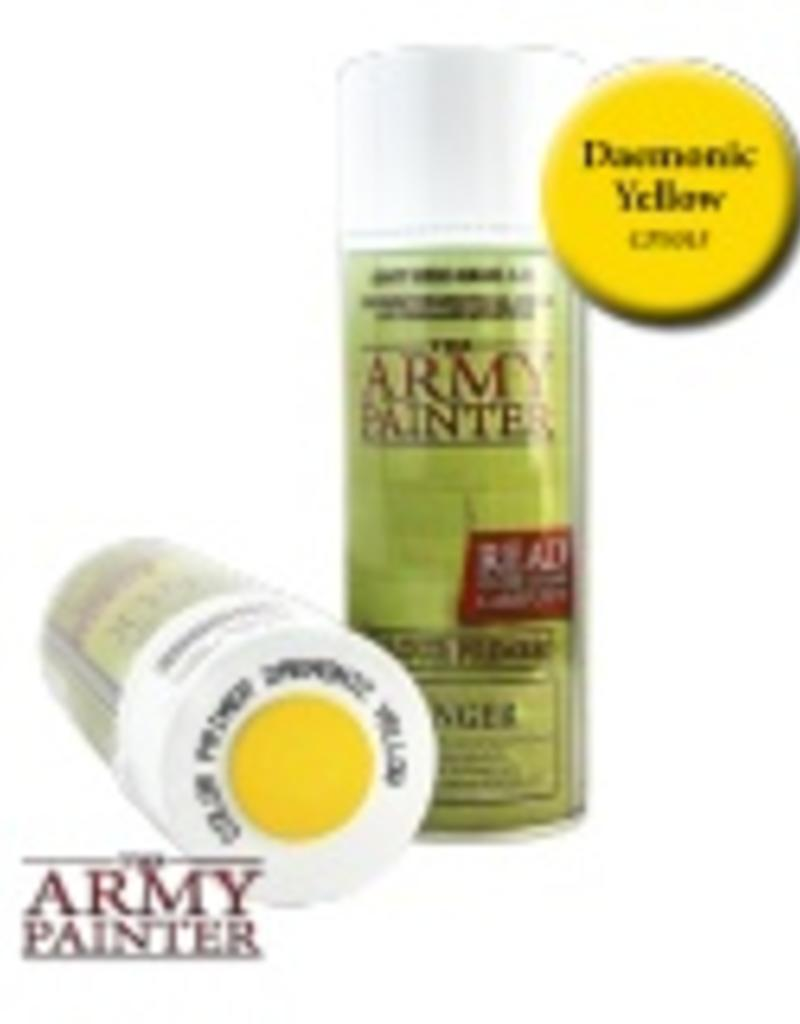 Army Painter Army Painter - Primer Daemonic Yellow Spray