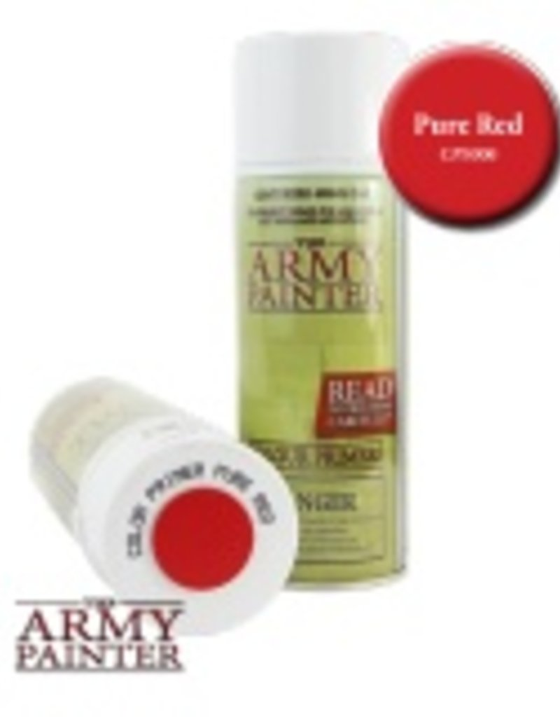 The Army Painter Army Painter - Primer Pure Red Spray