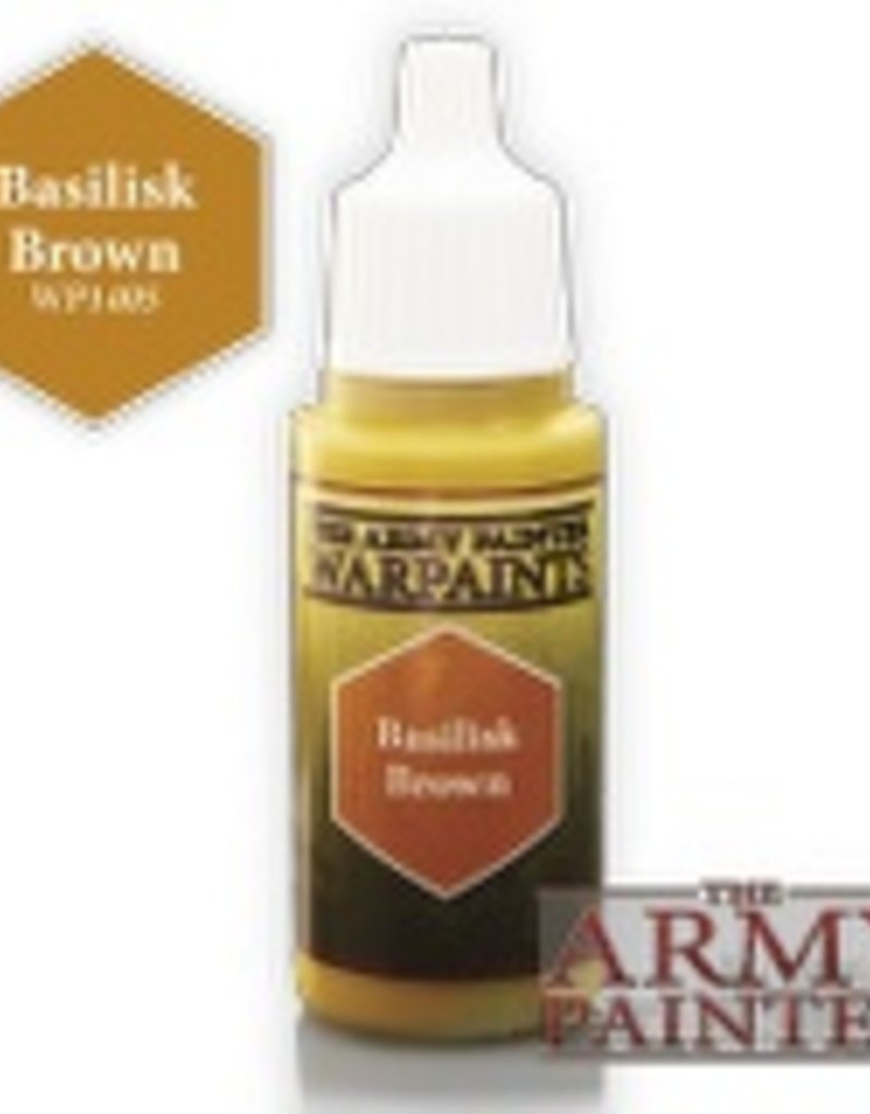 The Army Painter Acrylics Warpaints - Basilisk Brown