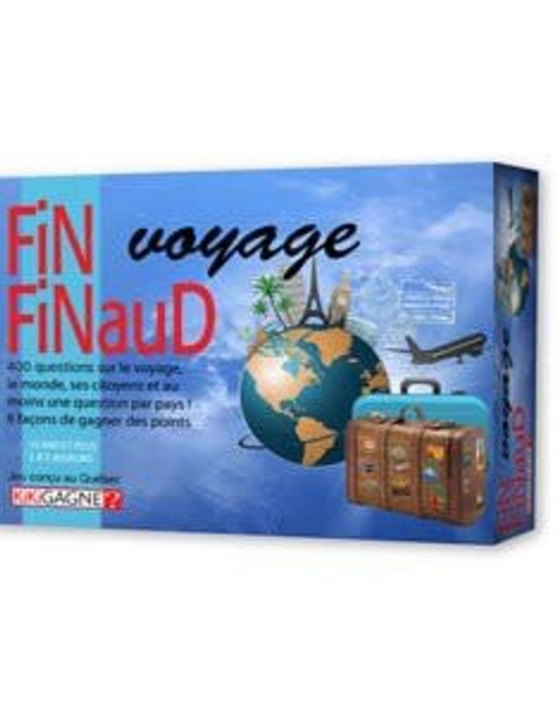 Kikigagne Fin Finaud - Voyage (FR)