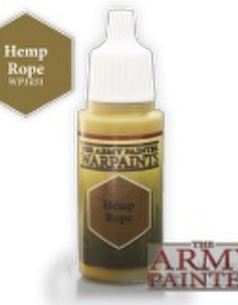 Army Painter Acrylics Warpaints - Hemp Rope