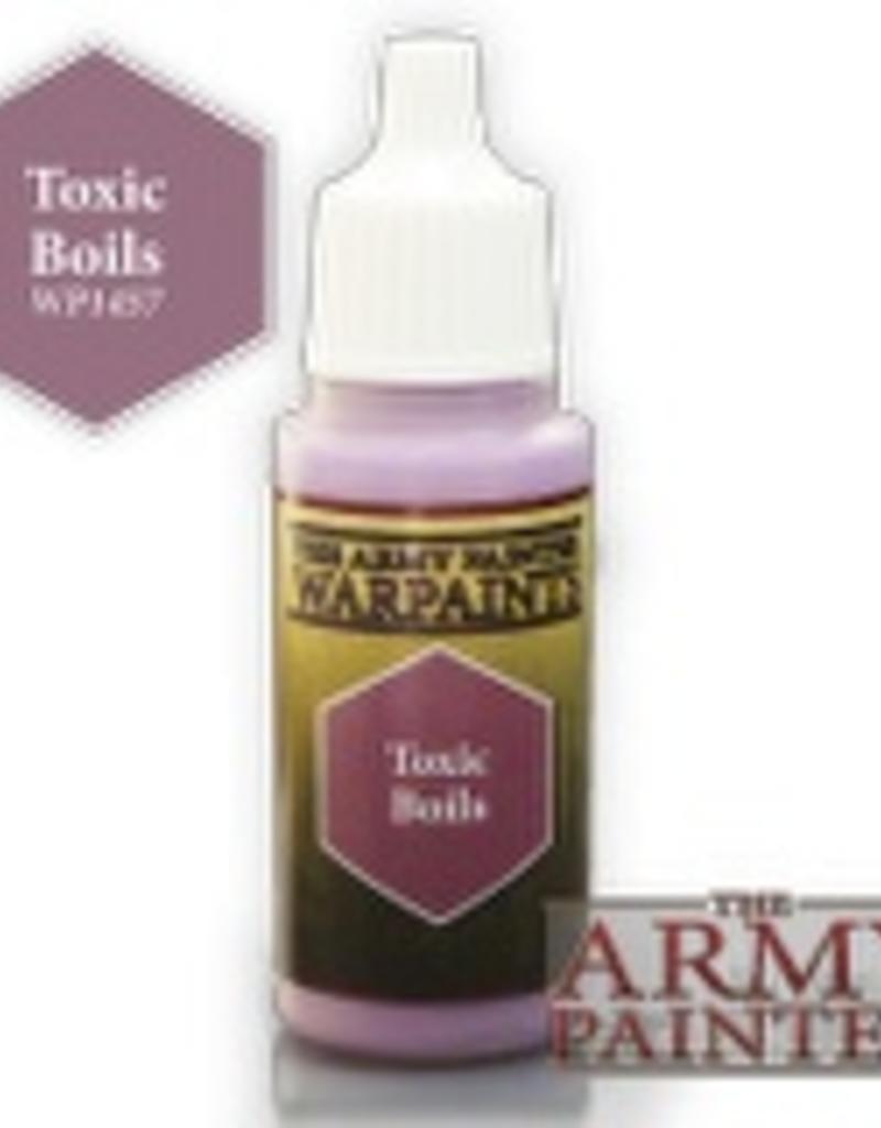 Army Painter Acrylics Warpaints - Toxic Boils