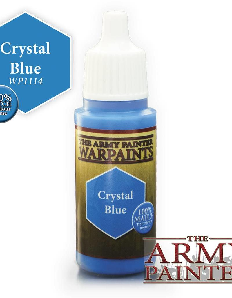 The Army Painter Acrylics Warpaints - Crystal Blue