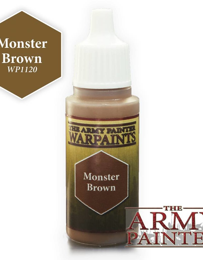 The Army Painter Acrylics Warpaints - Monster Brown