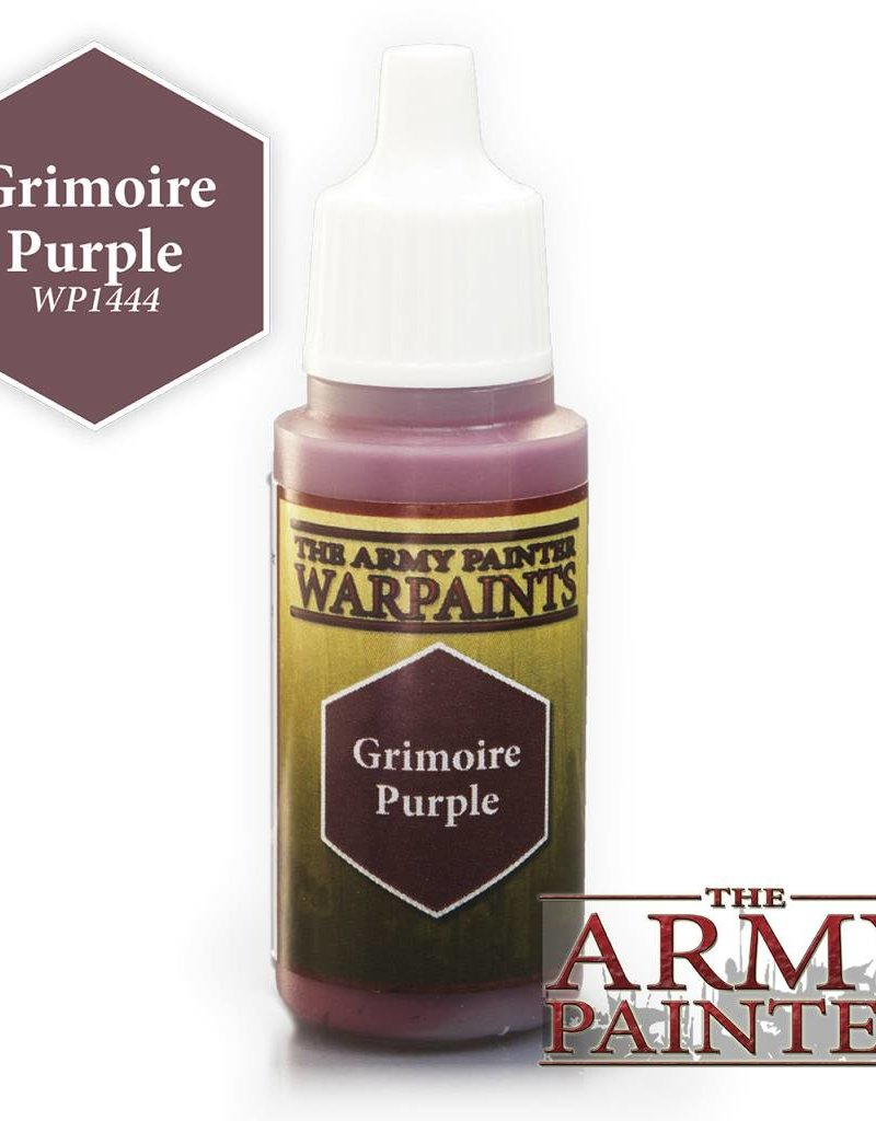 The Army Painter Acrylics Warpaints - Grimoire Purple