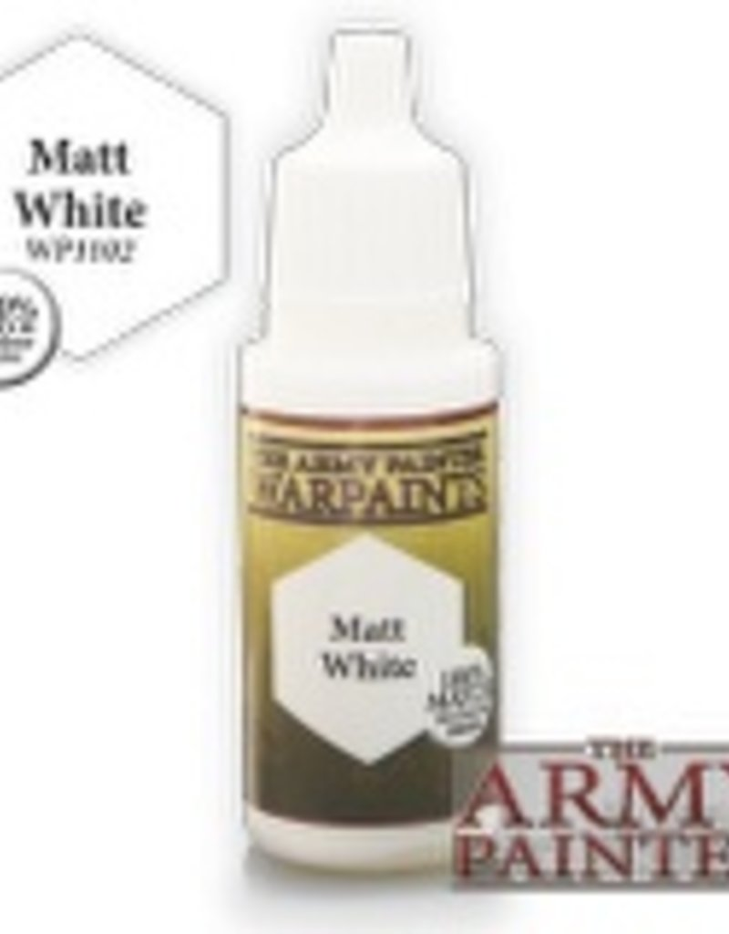 Army Painter Acrylics Warpaints - Matt White