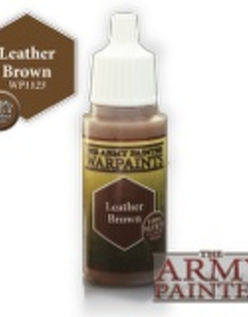 Army Painter Acrylics Warpaints - Leather Brown