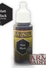 Army Painter Acrylics Warpaints - Matt Black