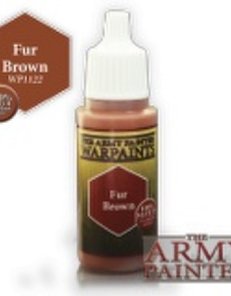 Army Painter Acrylics Warpaints - Fur Brown