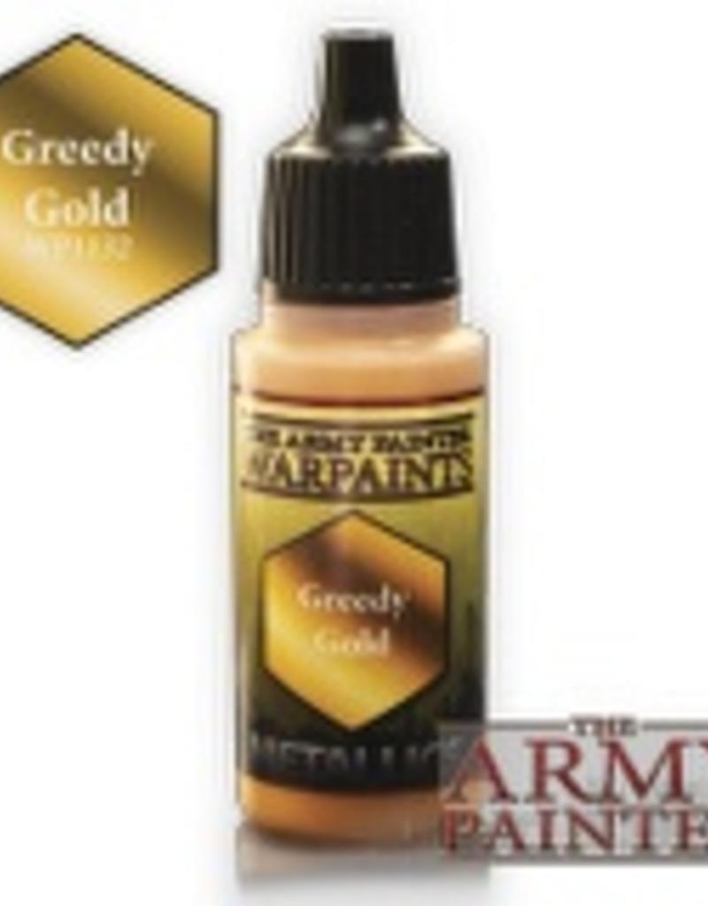 Army Painter Metallics Warpaints - Greedy Gold