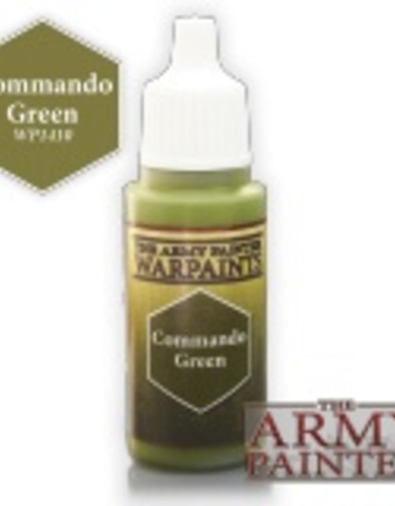 The Army Painter Acrylics Warpaints - Commando Green
