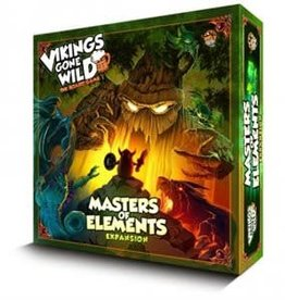 Lucky Duck Games Vikings Gone Wild: Ext. Masters of Elements (FR)