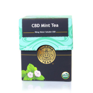 BUDDHA TEAS CBD -  MINT - 1 BAG