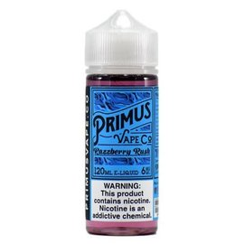 PRIMUS VAPE CO RAZZBERRY RUSH - PRIMUS VAPE CO - 0MG - 120ML