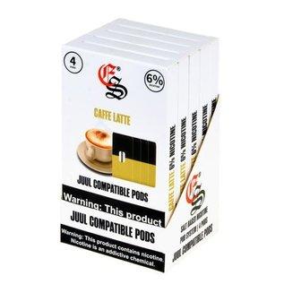 EONSMOKE EONSMOKE - Caffe latte - 6% PODS