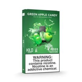 KILO 1K PODS - GREEN APPLE CANDY ICE