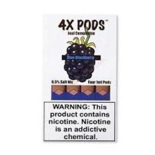 4x PODS JUUL PODS - 6.5% - BLUE BLACKBERRY