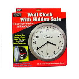 WALL CLOCK STASH BOX