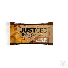 JUST CBD JUST CBD - PEANUT BUTTER PROTEIN BAR - 25MG