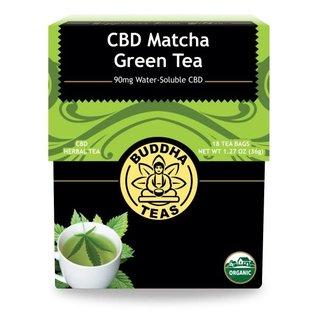 BUDDHA TEAS CBD -  MATCHA GREEN - 1 BAG