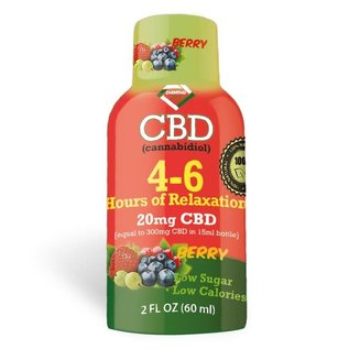 DIAMOND DIAMOND CBD SHOT 20MG 60ML BERRY