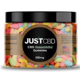 JUST CBD JUST CBD 500MG ASSORTED CBD GUMMIES