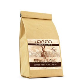 HAKUNA - DREAM HEMP ROAST - 8 OZ GUZZET BAG