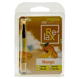 RELAX RELAX CBD CARTRIDGE - MANGO 1000MG