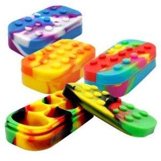 PUCK LEGO JAR W/ 7 CHAMBERS