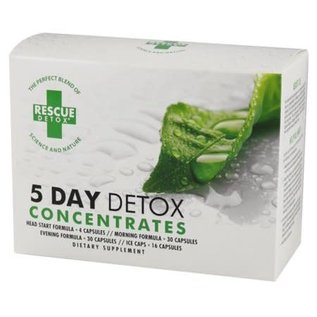 CONCENTRATES 5 DAY KIT - RESCUE DETOX