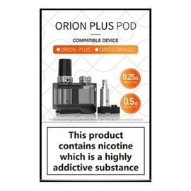 ORION PLUS REPLACEMENT POD w/ 2 COILS