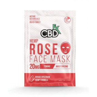 CBDFX FACE MASK - CBDFX - ROSE