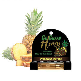 Go Green Hemp Pre-FilledTank 1ml (200mg) - Pineapple EACH