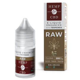 HEMP & CBD - 3000MG RAW E LIQUID ENHANCER