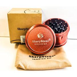 """SHARPSTONE V2 GRINDER 2.5""""-RED"""