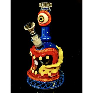 """AK 8"""" NEON MONSTER WATER PIPE 14MM"""