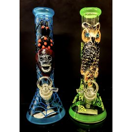 "10"" DESIGNER BEAKER WATER PIPE 14MM"