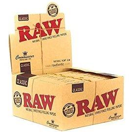 RAW CLASSIC CONNOISSEUR CARTON 24 1.25