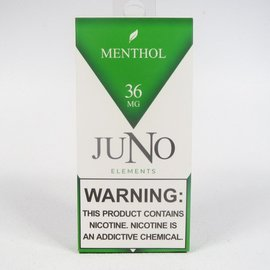 JUNO JUNO - MENTHOL - 4 PACK PODS - 36 MG/ML
