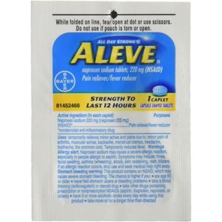 ALEVE 1 CAPLET 220MG NSAID