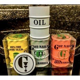 OIL BARREL SILICONE PUCK