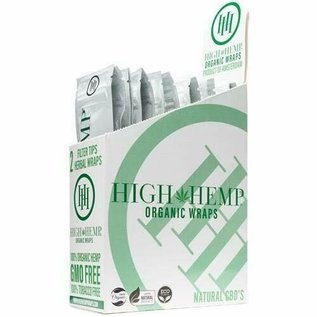 HIGH HEMP WRAP ORIGNAL 2-25 BOX
