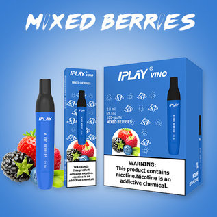 IPLAY IPLAY - VINO 2ML 5% - MIXED BERRIES
