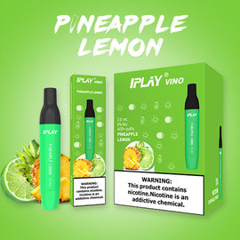 IPLAY IPLAY - VINO 2ML 5% - PINEAPPLE LEMON