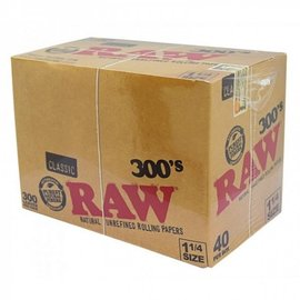 RAW PAPERS 300 1.25 CLASSIC - 40CT
