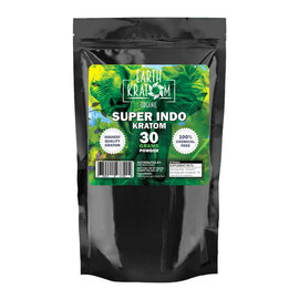 EARTHKRAT EARTH KRATOM - SUPER INDO - 30 GRAM POWDER