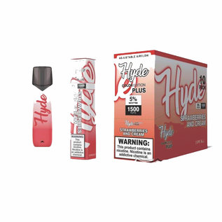 HYDE HYDE COLOR EDITION PLUS (1500 PUFFS) STRAWBERRIES & CREAM