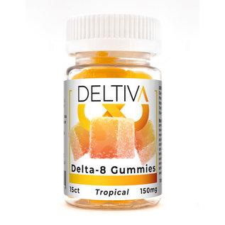 MISCDELTA Deltiva - Delta 8 Gummies ( 15 ct / 150MG  GME