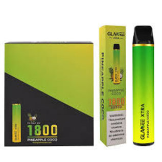 GLAMEE GLAMEE XTRA 1800 PUFF DISPOSABLE PINEAPPLE ICE
