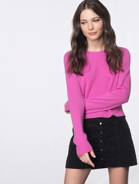 27 Miles Rafiella Cropped Sweater